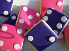 Bunco Cookies!! - Mom, pinned these for you!   # Pin++ for Pinterest #
