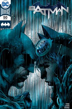Batman #50 - SDCC Graphitti Designs Jim Lee & Scott Williams Silver Foil Cover