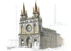 Portifólio Profissional de Antonio César: Urban Sketchers