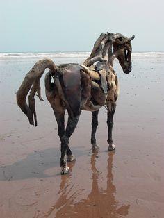 Driftwood Horse - Heather Jansch