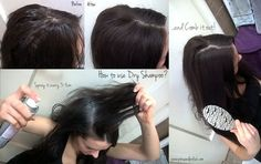 The right way how to use dry shampoo written by professionals.