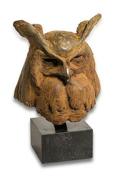 Anthon Hoornweg - Art Gallery Voute - Schiedam - bronze sculptures Bird Sculpture, Animal Sculptures, Bronze Sculpture, Paper Mache Animals, Clay Animals, Owl Wings, Whimsical Owl, Wood Owls, Clay Birds