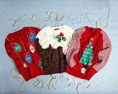 Make it merry with our fun and colourful Christmas jumpers Christmas Jumpers, Christmas Sweaters, Christmas 2014, Latest Fashion, Merry, How To Make, Fun, Gifts, Color