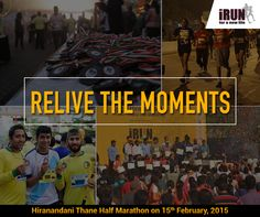Here are some beautiful memories from last year! Be part of some more new memories at Hiranandani Thane Half Marathon, 2015