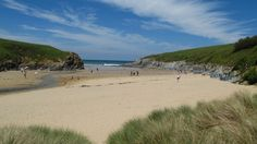 Visit picturesque Porth Joke on a visit to Holywell and Crantock, Devon, looked after by the National Trust.