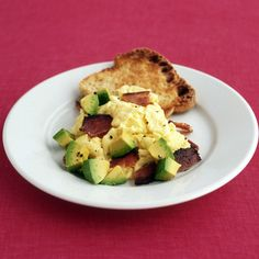 The combination of bacon and avocado is a winner at breakfast.