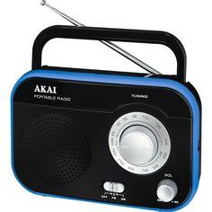 PR003A-410, Tuner FM / AM, 1 W RMS, Negru