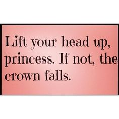 Lift your head up princess featuring polyvore