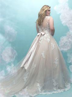 984b4f043adb8 Plus size bridal gown. See more. Allure Women s Style W405 A lovers dream wedding  dress http   www.charlottesweddings