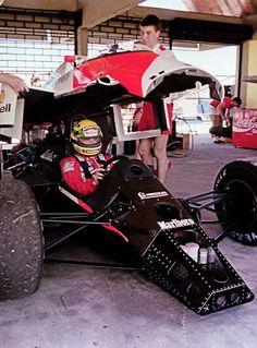 Ayrton Senna McLaren/Honda