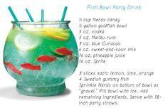 Fun party beverage