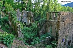Ruins of an old mill