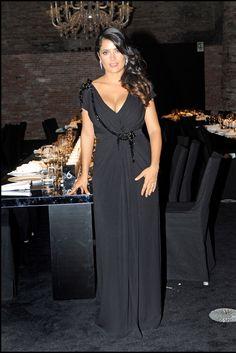 Salma Hayek in Gucci.