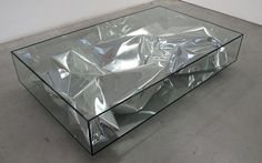 Cool coffee table! #metallic #furniture #design