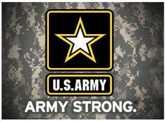 U.S. Army Strong Metal Sign