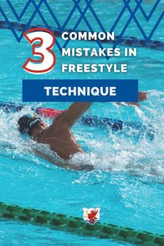 Are you trying to improve your freestyle technique? Freestyle isn't a hard stroke to learn, but making these three mistakes can slow you down in the water. Improve your freestyle technique and speed by avoiding these mistakes! Breaststroke Swimming, Swimming Drills, Swimming Gear, Baby Swimming, Swimming Workouts For Beginners, How To Swim Faster, Teach Kids To Swim, Baby Swim Float, Shoulder Flexibility