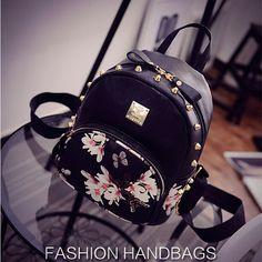 Купить товар2016 Новая Мода Цветок Бабочка Печати женская Малый Кожаный…