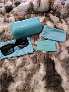 62c88062534e Authentic TIFFANY   Co TF4105HB 81343B SUNGLASSES Havana Brown New.   fashion  clothing  shoes  accessories  womensaccessories ...
