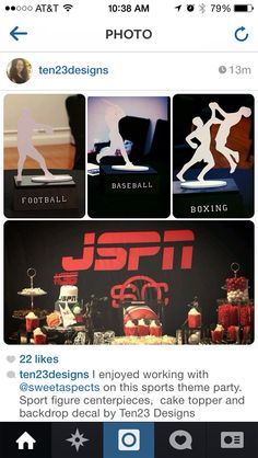 Espn sports theme mitzvah