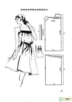 Серия сообщений: Простые выкройки из Японского журнала. № 6