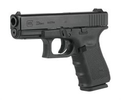 Glock 23 Gen 4 40 S&W with Fixed Sights, 3 Magazines, Backstraps