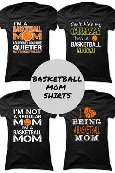 Awesome basketball mom shirt!  {ad}