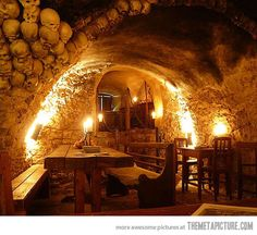 Medieval Tavern in Prague, Czech Republic