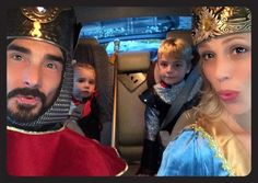 Happy Halloween!! #trickortreat Kevin Richardson (BSB), wife Kristin and sons Maxwell, left, and Mason, right :)