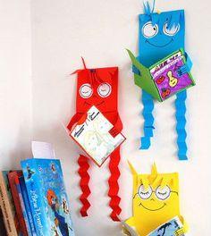 Bonecos de papel pensadores - Vale o Clique!