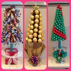 sweet tree - Google Search Sweet Trees, Xmas, Christmas, Holiday Decor, Cake, Crafts, Food, Home Decor, Google Search