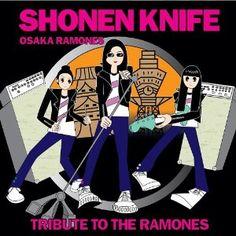 "Music – Shonen Knife – ""Osaka Ramones, Tribute to the Ramones""- October 23 2011 – Sewell NJ Music Clips, My Music, Original Music, Ramones, Osaka, Golden Age, Cool Bands, Musicals, Indie"