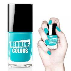 Headline Color brengt de laatste trends van de catwalk naar je nagels! Met deze Poolside Party nagellak ben je klaar voor ieder zomers feestje!