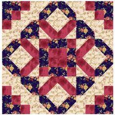 Quilt Block Pattern - Florene Elaine