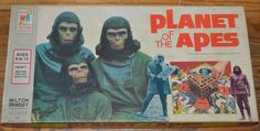 1974 Planet of the Apes Board Game Milton Bradley 4426 | eBay