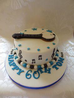 Banjo mandolin cake from the bakeri Pinterest Mandolin and