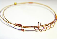 guitar string jewelry from My Beading Heart Guitar String Jewelry, Guitar Strings, Bangles, Bracelets, Wire Wrapped Jewelry, Wire Wrapping, Jewlery, Amy, Beading