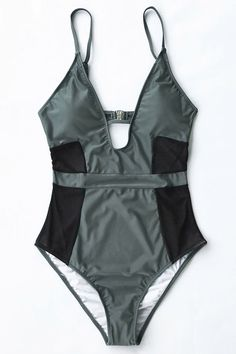 Cupshe Absolut Lust Mesh One-piece Swimsuit