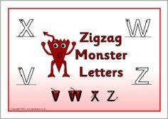 Letter formation posters (SB7841) - SparkleBox