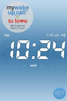 Wake up to #love with My Wake UP Call® To Love #motivational alarm clock messages with #1 NY Times #bestselling author, Marci Shimoff. NEW #iPhoneApp @iTunes includes 30 daily patented 5-minute #inspiring messages for only $1.99