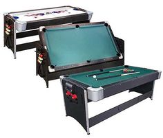 3 In 1 Game Table   Air Hockey, Pool U0026 Ping Pong!
