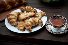 Croissants for Sunday Tea