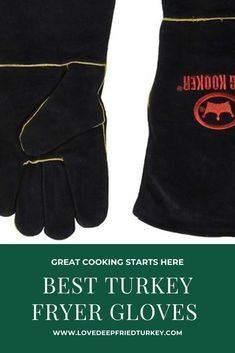 Check out the best turkey frying gloves which are extraordinary hand shields to guarantee the protection of the hands during deep frying. Deep frying gloves are also ideal for carving turkeys or other cuts of meat. #turkey #gloves #glove #teflon #silicone #silicon #deepfrying #smoking #grilling #bbq #southerncooking #outdoors #outdoorcooking #backyard #home #food #foodanddrink