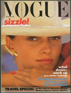 Sizzle cover girl! Circa 1980.