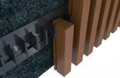 New exterior cladding facades house ideas Modern house design - Timber Battens, Timber Walls, Timber Cladding, Exterior Cladding, Cladding Design, Slat Wall, Ceiling Design, Architecture Details, Exterior Design