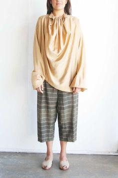 Issey Miyake Silk Top