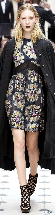Spring 2016 Ready-to-Wear Burberry Prorsum