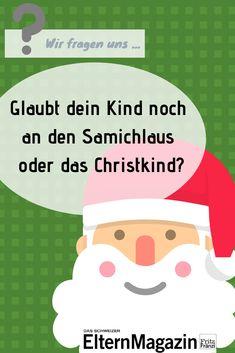 Wir stellen uns gegenseitig Familien- und Erziehungsfragen. Heute antwortet Chefredaktor Nik Niethammer auf die Gretchenfrage, was in seiner Familie zum Thema Nikolaus/Samichlaus und Christkind erzählt wird und ob seine Kinder das glauben.