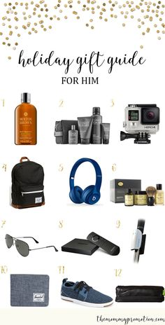 Whether you are shopping for your husband, boyfriend, brother or friend, there is something on this list that any which one of the men in your life are sure to love.  We've included some of o…