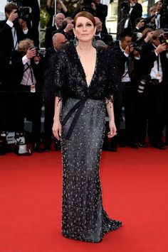 Julianne Moore in Armani Prive at Cannes 2015