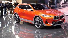 Exotic Cars Video:BMW X2 コンセプト パリモーターショーのスタンドでの展示の模様